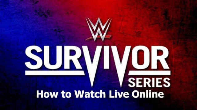 WWE Survivor Series 2020 live